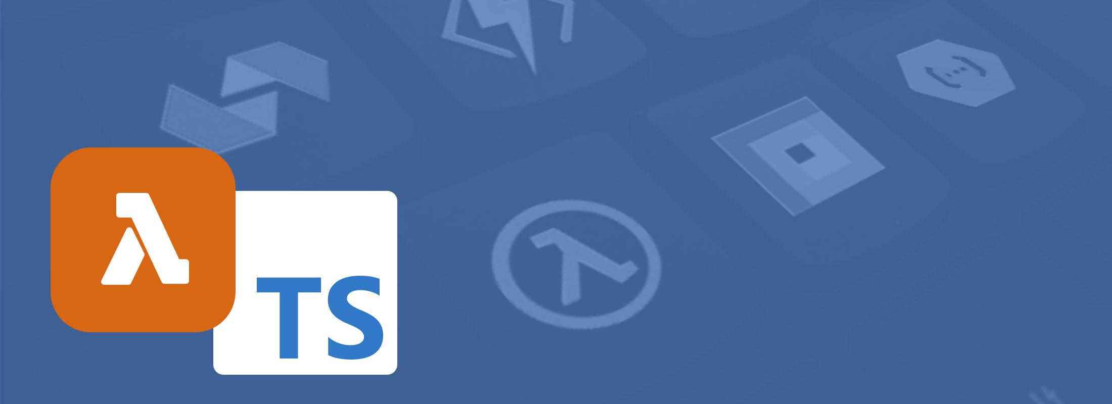 Header Image Using TypeScript with AWS Lambda and SAM